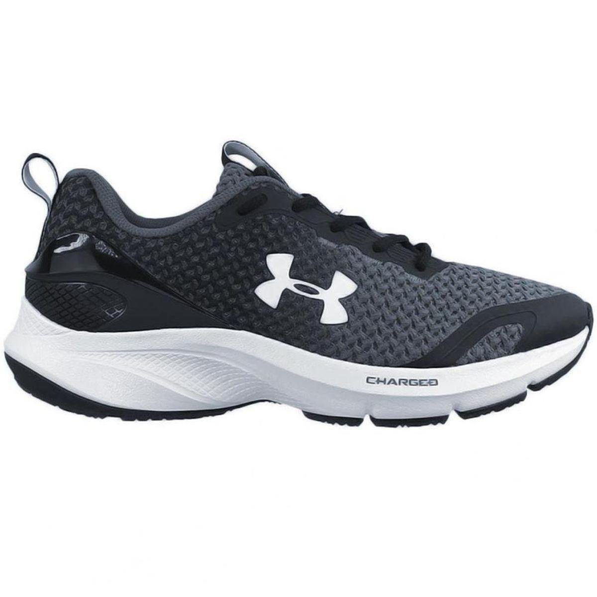 Tênis Under Armour Charged Prompt Masculino - Preto/Cinza