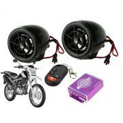 Alarme para moto com Bluetooth Rádio  micro SD e USB XGDG-251