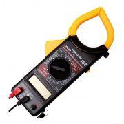 Alicate Amperímetro Multímetro Digital Multitest Tensão XT-2055