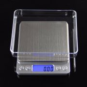 Balança Digital Diamond Precisão 01g a 1kg Com bandejas