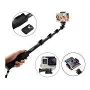 Bastão Selfie Profissional Retrátil Controle Com Bluetooth MZP-108