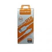Cabo v8 USB 2 Metros Rápido 2.1A Hmaston H109-1