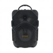 Caixa De Som Bluetooth C/ Led  Portátil C/ entrada P/ Microfone Cs-30