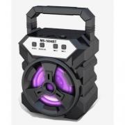 Caixa de Som Bluetooth MS-1604BT Com FM e MP3 Player