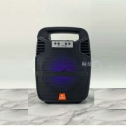 Caixa de Som Bluetooth MS-1901BT Com FM e MP3 Player