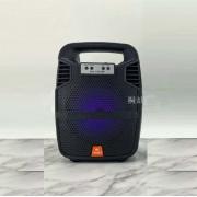 Caixa de Som Bluetooth MS-1901BT Com FM e MP3 Player