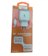 Carregador altomax com 2 portas usb – al-0162 4.8a