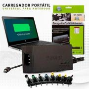 Carregador Universal Portátil para Notebook Power Adapter MY-120W