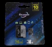 Cartão de memoria 16GB micro SD 2.0 Átomo