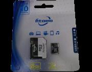 Cartão de memoria 8GB micro SD 2.0 Átomo