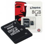 Cartão De Memória Kingston 8gb Classe 10