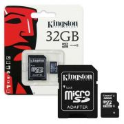 Cartão Memoria Sd Card/Micro 32Gb Kingston