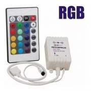 Central Da Fita Led Rgb Controlador Com Controle 5050 3528