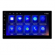 Central Multimídia Le-6313 Android 10.0 Tela 7 Led Touch