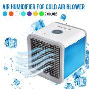Climatizador Ventilador Ar Luminária Água Cooler Cool Gelado