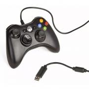 Controle Com Fio para Xbox 360 Slim Joystick Computador E Pc FR-64