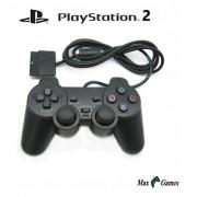 Controle Manete Playstation 2 Play 2 Ps2 Vibratório Com Fio