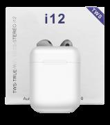 Fones de ouvido bluetooth 5.0 tws i12  sporte para todo o telefones