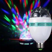 Lampada Rotativa Color RGB 3W w998 LED