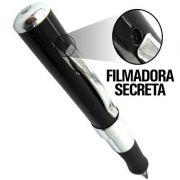 Micro Câmera em Caneta de Espionagem Secreta FULL HD 4GB / Caneta Espiã