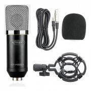 Microfone Condensador Knup BM-800 Profissional Estúdio sem braço