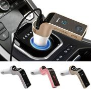 Transmissor Bluetooth FM para carro Mic/SD,USB, Drive/AUX Play Para iPhone,iPad