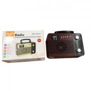 Radio Retro Caixa de Som Portatil Bluetooth Recarregavel MO-602T
