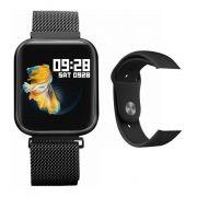 Relógio Inteligente Smartwatch Oled P70 C/ Duas Pulseiras