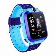 Relógio Smart Watch Kids Com Gps Lanterna Chat Direto Câmera (azul)
