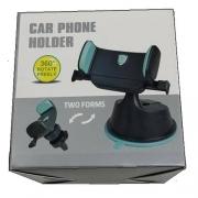 Suporte 2 Em 1 Rotação 360 Graus Para-brisa e Saida de ar Carphone Holder
