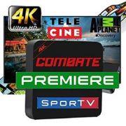 Transforme sua TV em uma SMART TV com todos os canais Liberados
