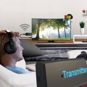 Transmissor Audio Bluetooth P2 Audio Da Sua Tv Para O Fone Bluetooth
