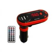 Trasmissor SeM fio MP3 Bluetooth veicular KCB-618