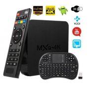 Tranforme sua TV em Smat Tv-Box Mxq 4k + Mini Teclado Sem Fio