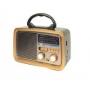 RÁDIO FM/AM/SW/USB/TF/AUX/RECEPTOR DE 3 FAIXAS  MO-3188T