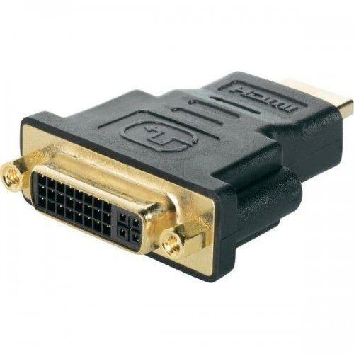 Adaptador Conversor Hdmi P/ Dvi-I Dual Link 24+5 Pinos