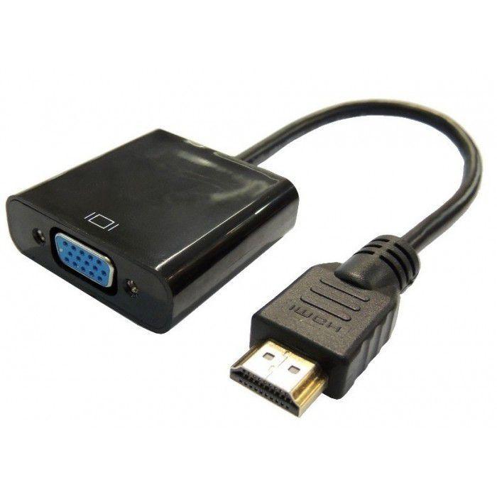 Adaptador Conversor Hdmi x Vga XT-5025