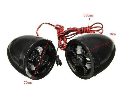 Alarme para moto com Controle Rádio micro SD e USB