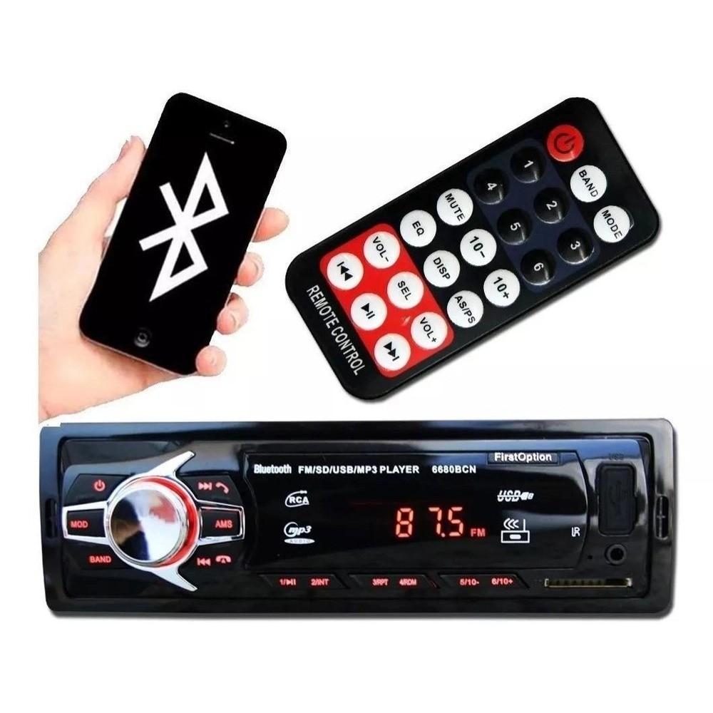 Aparelho De Som Automotivo MO- Com Bluetooth