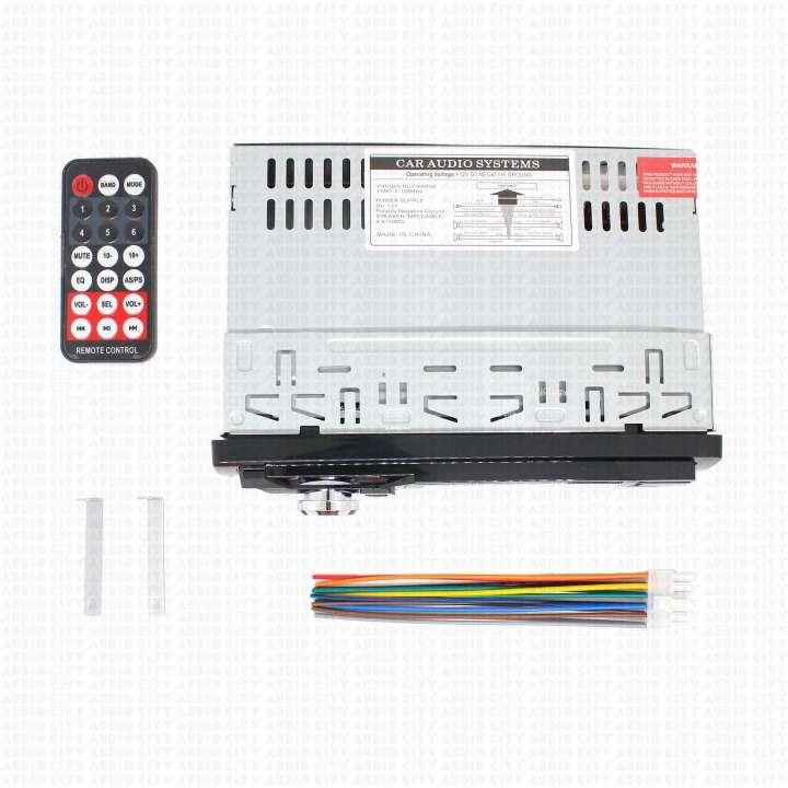 Auto Radio Bluetooth Mp3 Fm Usb Aux Sd Controle MO-6821