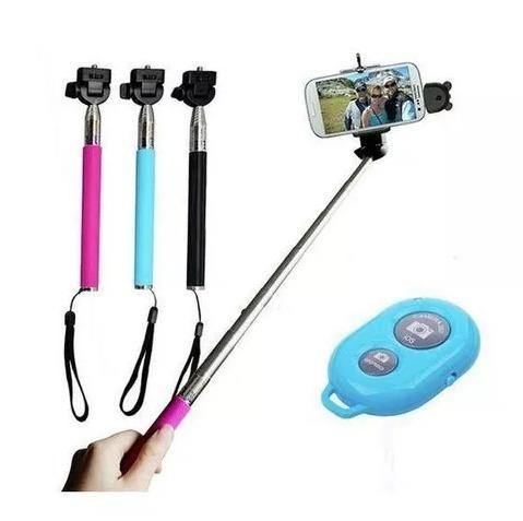 Bastão Selfie Rod com Bluetooth Wireless Remoto WA-37