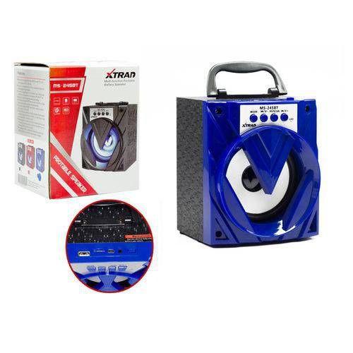 Caixa de Som Bluetooth -ms 245 Bt  Azul