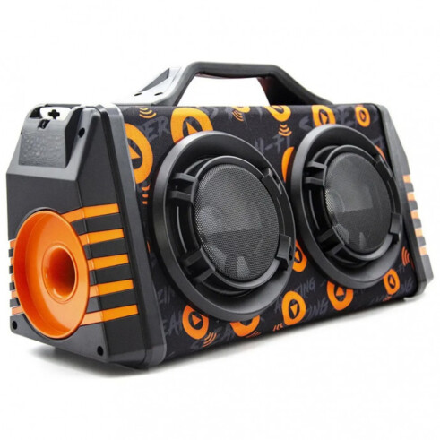 Caixa De Som Bluetooth Sem Fio Big Box Led Xtrad Xdg-37 Fm
