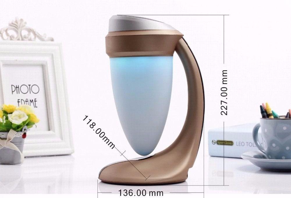 Caixa De Som Bluetooth Speaker Abajur Daniu Lâmpada Luz de Led