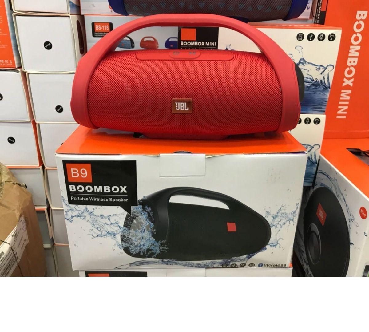Caixa De Som Mini Boombox Bluetooth