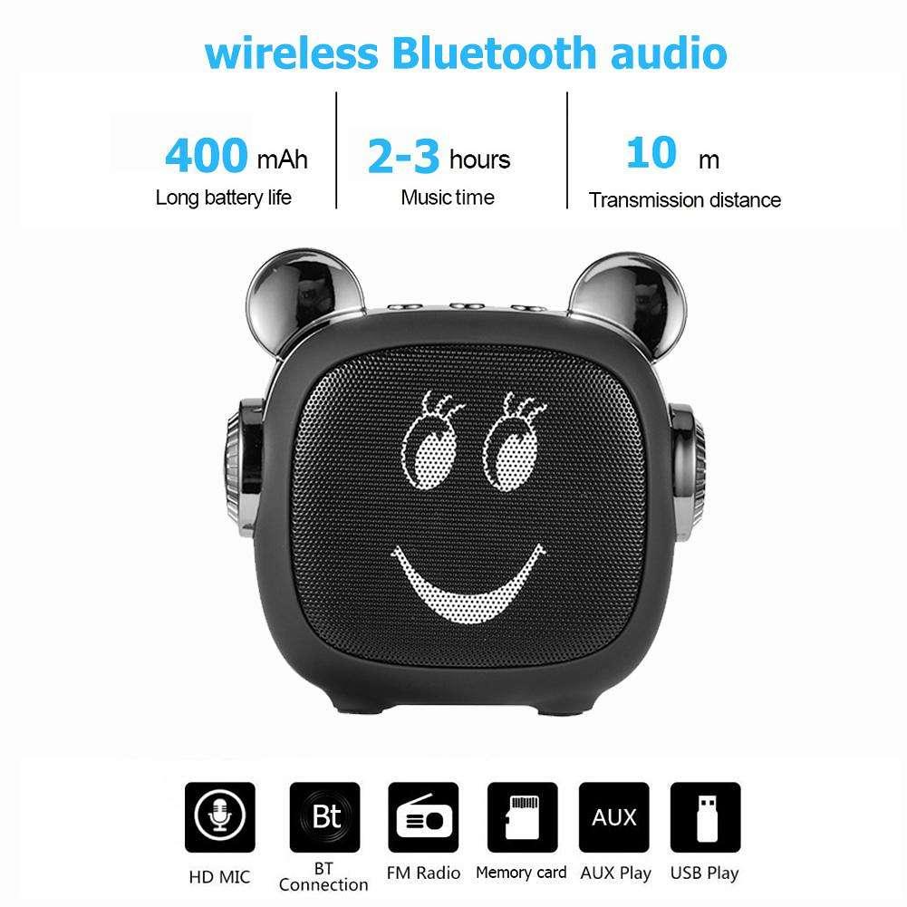 Caixa de som Sorriso Efraim Shop LN14 Bluetooth