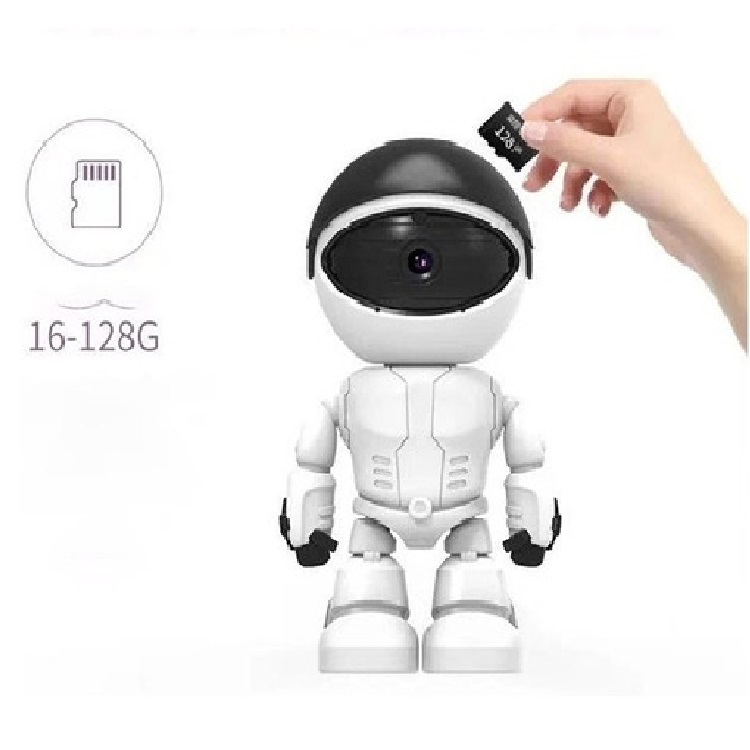 Câmera Ip Robô Auto Tracking Visão Noturna Fullhd 1080p Wifi - It Blue