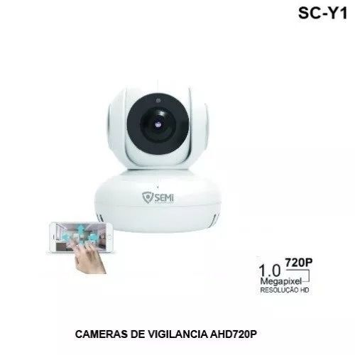 Câmera Ip Robo Hd 720p Infravermelho Áudio 360° Semi Sc-y1