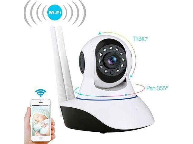 Camera Onvif Ip Hd1.3mp 720p Hd Wifi Audio P2p Wireless