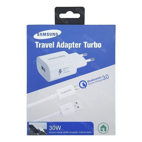 Carregador Celular Samsung Turbo 3.0 tipo C 30w de Potencia